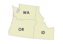 Oregon, Washington & Idaho